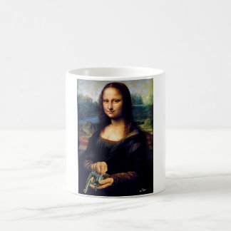 Mona Loading Basic White Mug