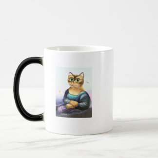 Mona Meow Morphing Mug
