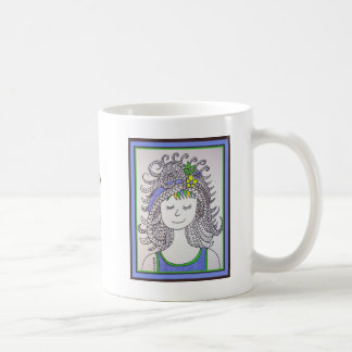 Mona Smiles Basic White Mug