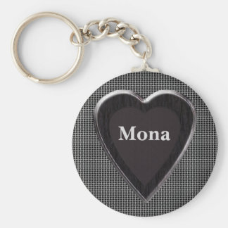 Mona Stole My Heart Keychain