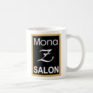 Mona Z Logo 15 Oz Mug - White