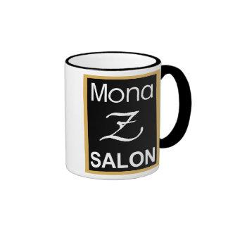 Mona Z Logo Ringer Mug