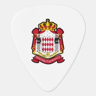 Monacan coat of arms plectrum