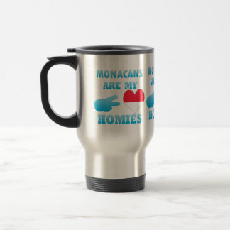 Monacans are my Homies Stainless Steel Travel Mug