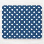 Monaco Blue Polka Dot Pattern