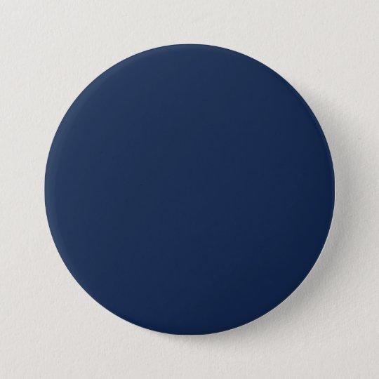 Monaco Blue Trend Colour Dark Blue Customised 7.5 Cm Round Badge