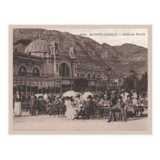Monaco Cafe de Paris Postcard