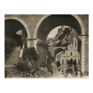 Monaco Church Replica postcard 1920
