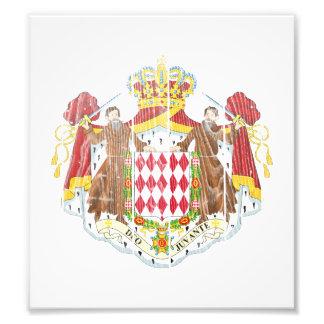 Monaco Coat Of Arms Photo Print