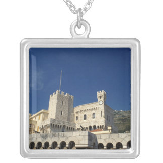 Monaco, Cote d'Azur, Prince's Palace. Silver Plated Necklace
