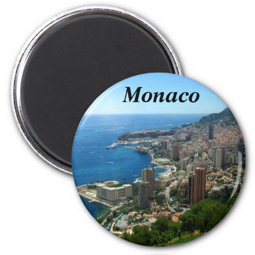 Monaco france magnet