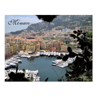 Monaco, French Riviera, France Postcard
