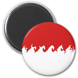 Monaco Gnarly Flag Magnets