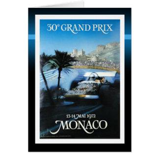 Monaco Grand Prix Card