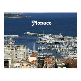 Monaco Harbor Postcard