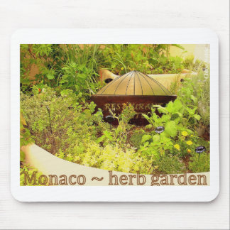 Monaco - herb garden mouse pad