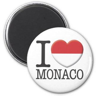 Monaco 6 Cm Round Magnet