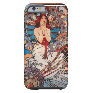 Monaco Monte Carlo and Alfons Mucha Tough iPhone 6 Case
