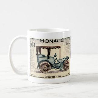 Monaco Old Classic Cars Coffee Mug