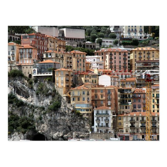 Monaco, Photo Ola Berglund Postcard