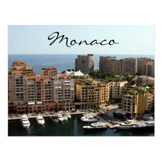 monaco residences postcard