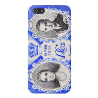 Monaco Royalty Postage Stamp iPhone iPhone 5/5S Cover