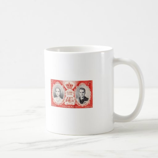 Monaco Royalty Postage Stamp Mug