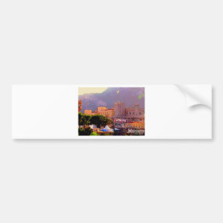 Monaco s Palace Bumper Sticker