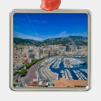 Monaco Skyline Christmas Ornament