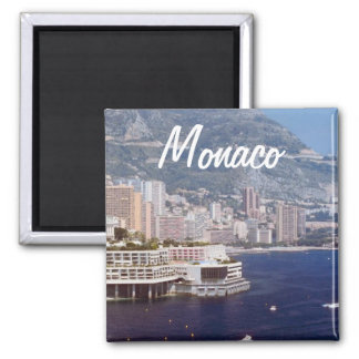 Monaco Travel Photo Souvenir Fridge Magnets