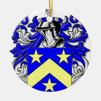 Monahan Coat of Arms Christmas Tree Ornaments