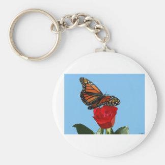 Monarch Basic Round Button Key Ring
