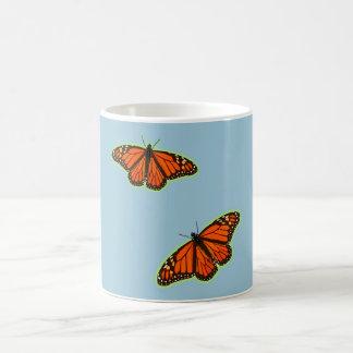 Monarch Butterfies Basic White Mug