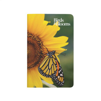 Monarch Butterfies on Sunflower Journal