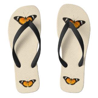 Monarch Butterflies Flip Flops