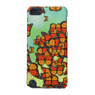 Monarch butterflies iPod touch (5th generation) case