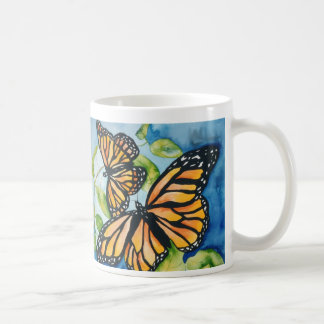 monarch butterflies mug