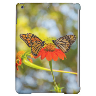 Monarch Butterflies on Wildflowers iPad Air Cover