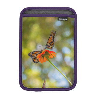 Monarch Butterflies on Wildflowers iPad Mini Sleeve