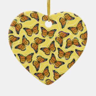 MONARCH BUTTERFLIES Ornament