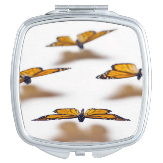 Monarch Butterflies Vanity Mirror