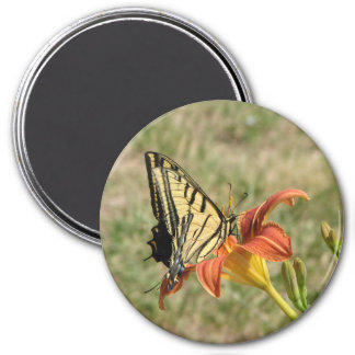 Monarch Butterfly 7.5 Cm Round Magnet