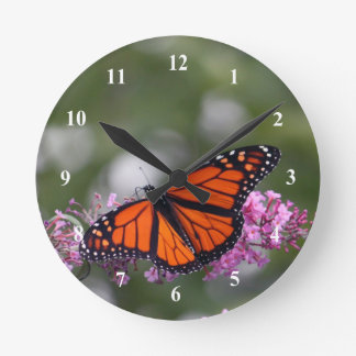 Monarch Butterfly 9740 Clock