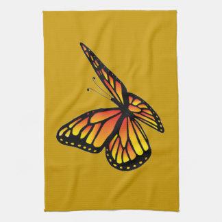 Monarch butterfly American MoJo Kitchen Towel