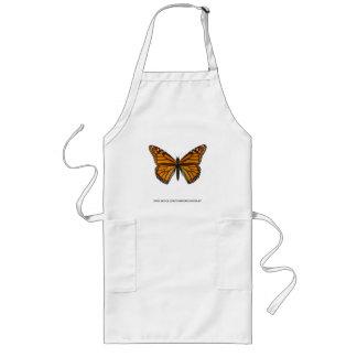 Monarch Butterfly Long Apron