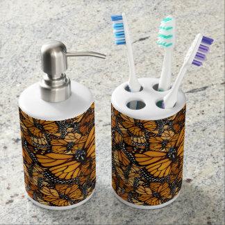 Monarch Butterfly Bathroom Set