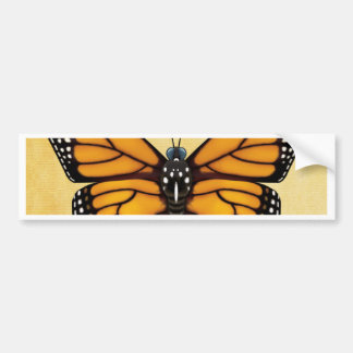 Monarch Butterfly Bumper Sticker