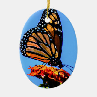 Monarch Butterfly Christmas Ornament