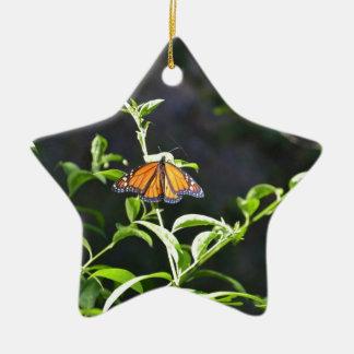 Monarch Butterfly. Christmas Ornament