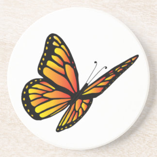 Monarch butterfly coasters